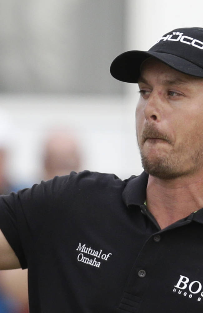 Stenson selected European golfer of year