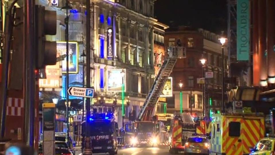 Roof collapse hits London theatre trade