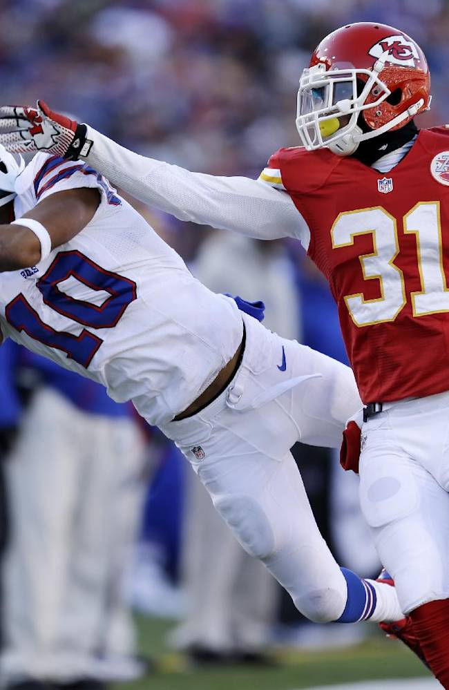 Bills WR Woods' status questionable