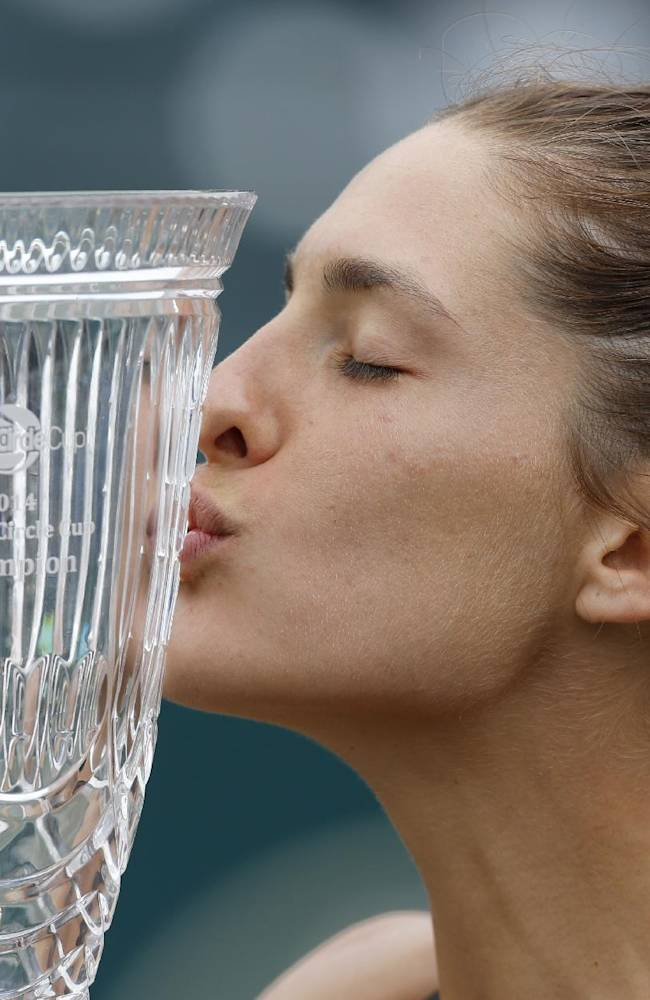 Germany's Petkovic wins Family Circle Cup