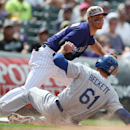 Dodgers' Beckett goes on 15-day DL with hip injury The Associated Press