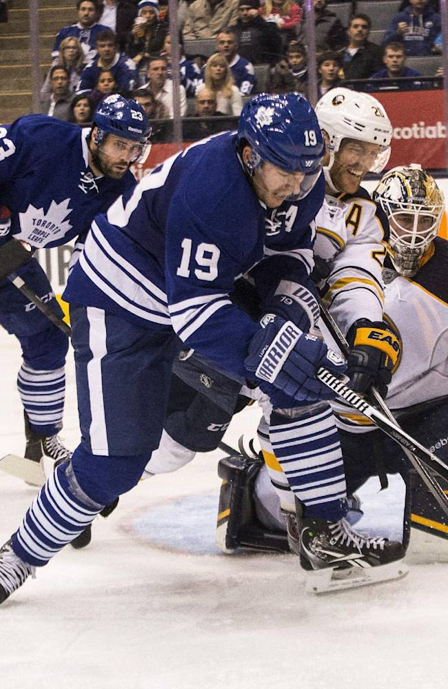 Maple Leafs topple Sabres 4-2