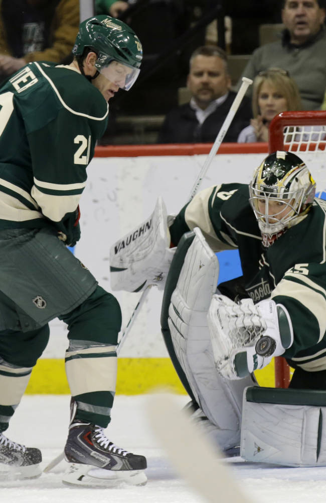 Prosser scores in overtime as Wild beat Stars 3-2