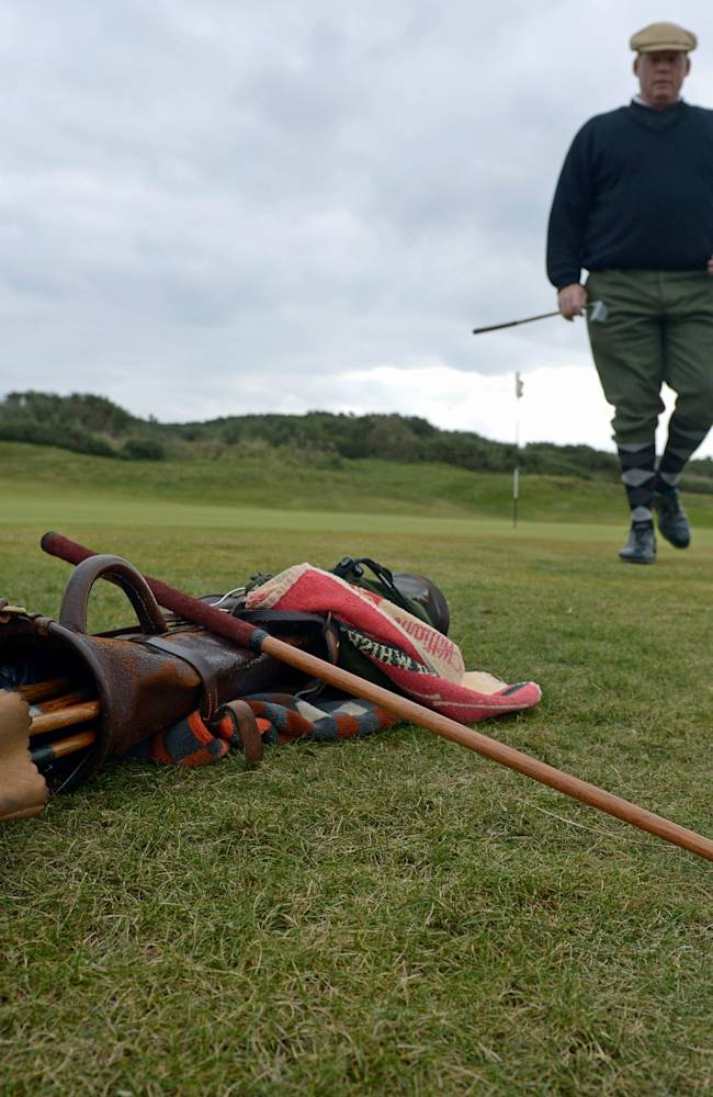Amateur And Professional Golfers Gather For The Hickory Golf Championships