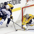 Smith's late goal leads Predators over Jets 2-1 The Associated Press