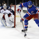 Rangers' Nash misses 1st game of season due to neck spasms The Associated Press
