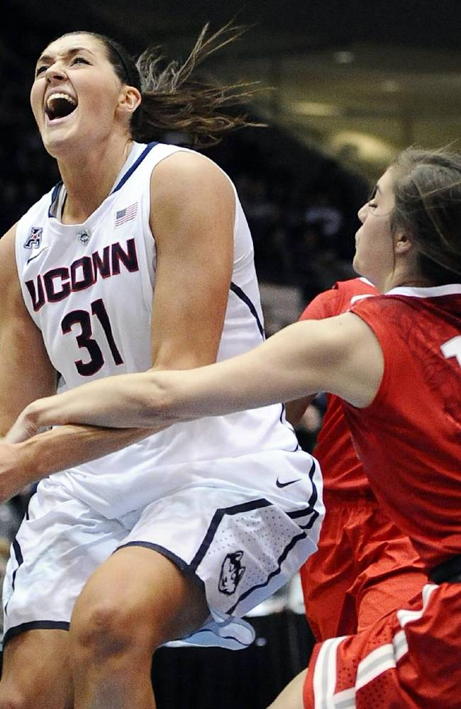 UConn women remain No. 1 in AP basketball poll