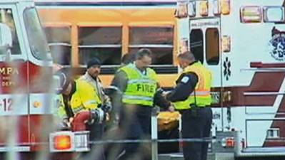 Raw: One Child Dead in Idaho School Bus Crash