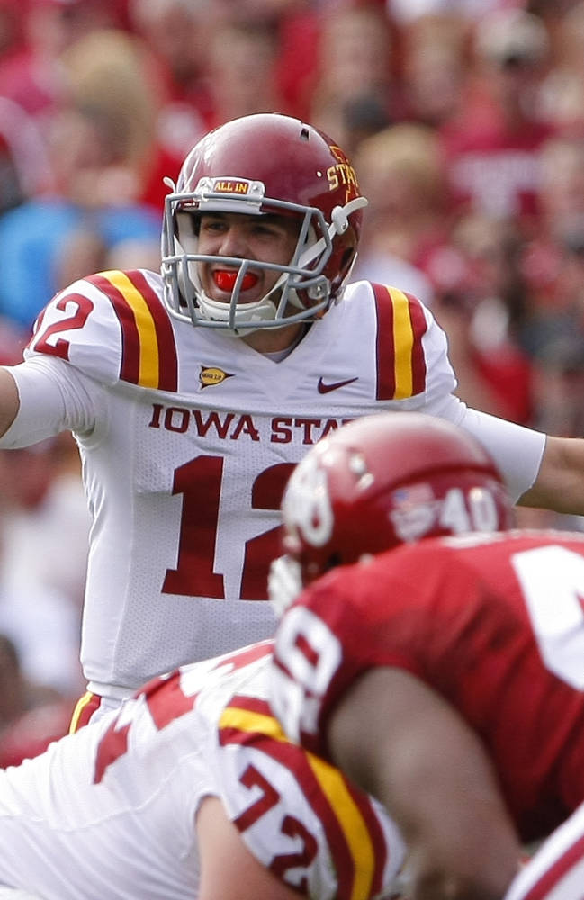 Struggling Iowa State preps for 3-7 Kansas