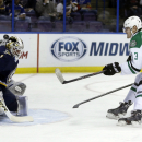 Elliott has 33 saves in Blues' 6-1 win over Stars The Associated Press