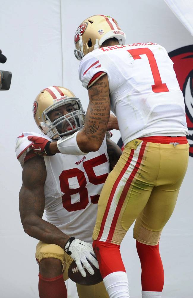 Vernon Davis produces another special year