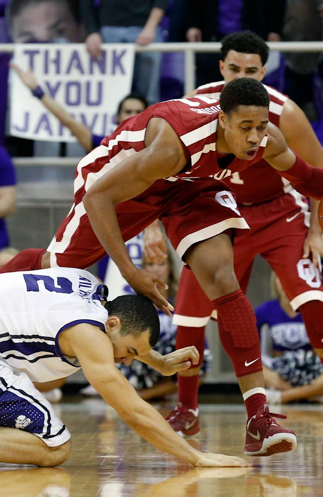 No. 23 Sooners earn Big 12 2nd seed, 97-67 at TCU