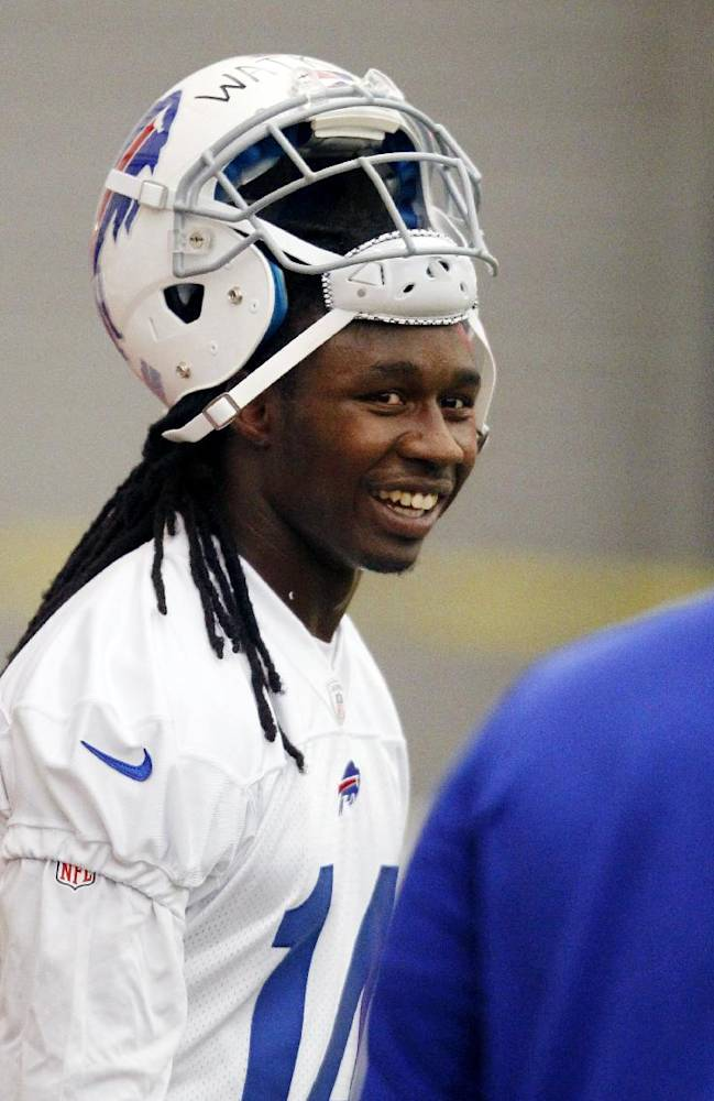 Rookie WR Watkins quickly catching on with Bills