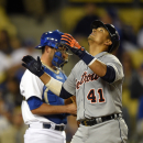 Martinez's HR in 10th leads Tigers over Dodgers The Associated Press
