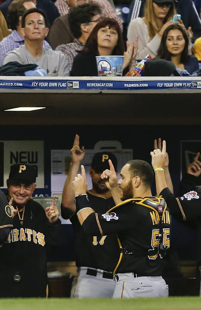 Cole and Pirates beat Padres 4-1