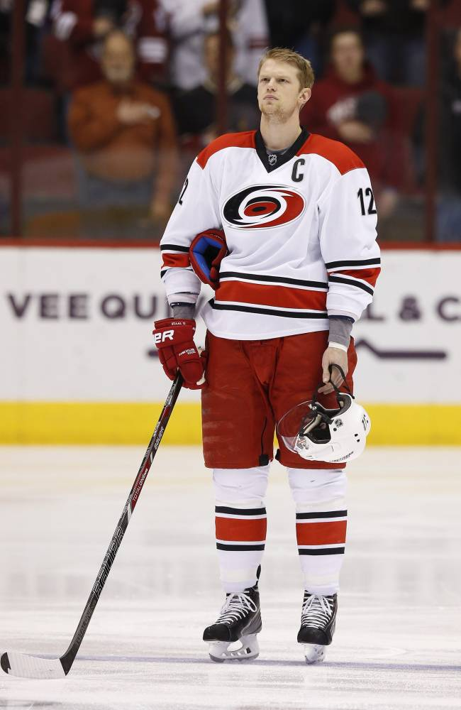 Canes captain has surgery to fix muscle injury