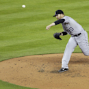 Colorado Rockies starting pitcher Brett Anderson (30) throws in the third inning of a baseball game against the Miami Marlins, Tuesday, April 1, 2014, in Miami The Associated Press