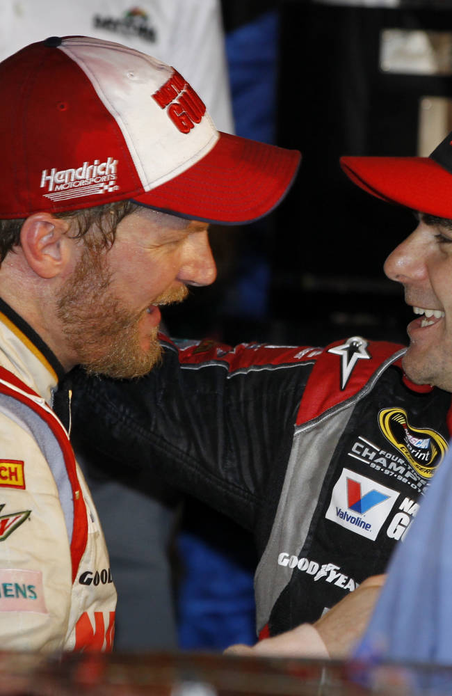 Earnhardt's Daytona 500 win lifts 'heavy weight'