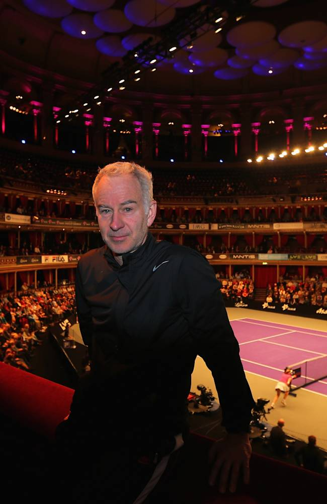Statoil Masters Tennis - Day Two