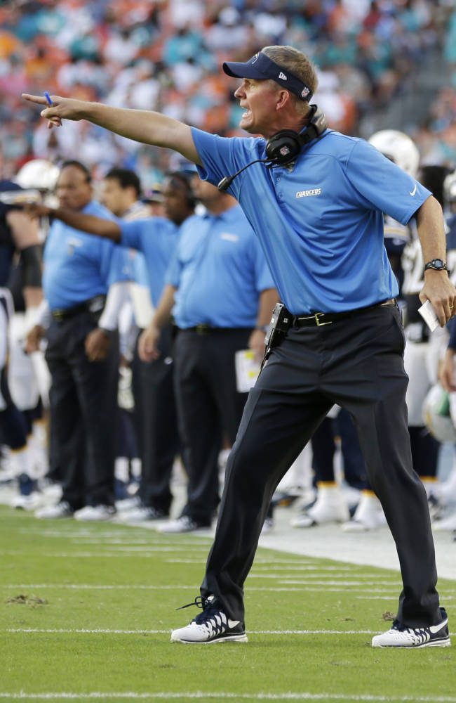 Embattled Dolphins stop Chargers to win, 20-16