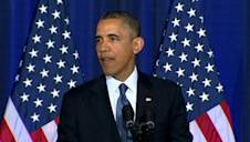 Obama limits use of drone strikes, discusses closing Guantanamo