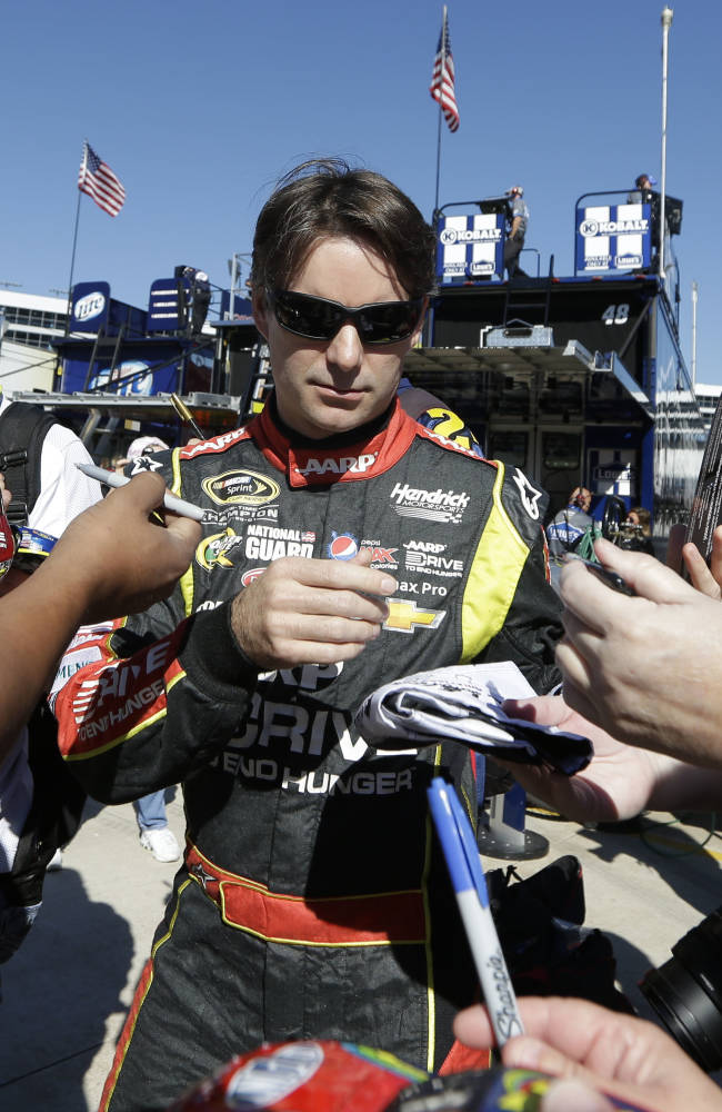 Gordon making most of unprecedented Chase chance