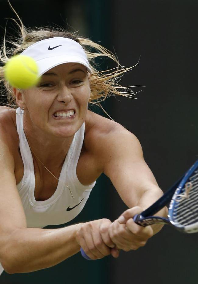 5 things at Wimbledon: Sharapova returns to court