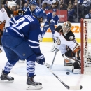 Kessel, Bernier help surging Leafs stop Ducks 6-2 The Associated Press