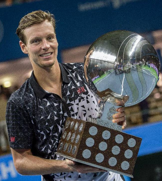 Berdych beats Dimitrov to win Stockholm Open title