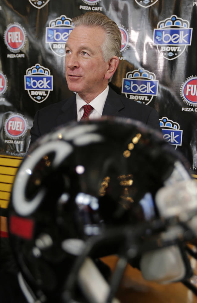 Tuberville eager for first bowl game with Bearcats