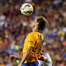 FC Barcelona midfielder Ivan Rakitic (4) in action on Tuesday,July,28, 2015, in Landover, Maryland. Chelsea and FC Barcelona face off at the 2015 International Champions Cup. Damian Strohmeyer/AP Images for International Champions Cup
