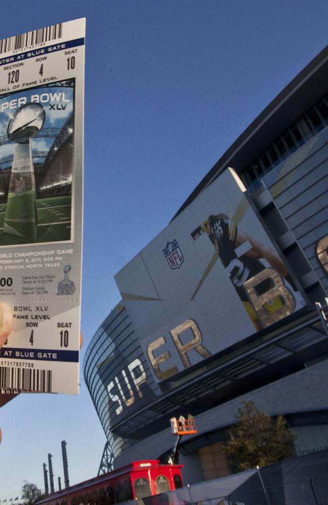 Looking for Super Bowl tickets? You pay, they play