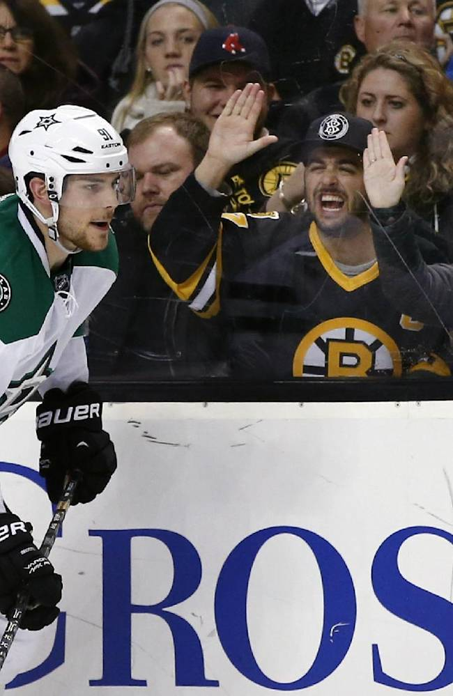 Seguin returns, Stars top Bruins 3-2 in shootout