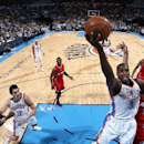 Thunder forward Serge Ibaka out 4-6 weeks after knee surgery The Associated Press