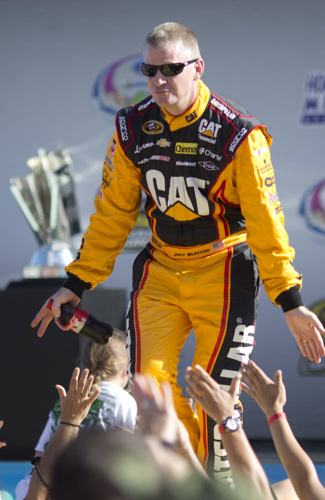 MWR hires Jeff Burton as test driver for 2014