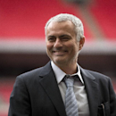 FILE- In this Monday, Feb. 1, 2016 file photo, former Chelsea manager Jose Mourinho smiles as he attends an event at Wembley Stadium in London. Now manager of Manchester United, Mourinho says the club is in need of both a quick-fix and long-term stabili