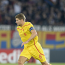 Liverpool's Steven Gerrard controls the ball during an Champions League group B match between Switzerland's FC Basel 1893 and Britain's Liverpool FC in the St. Jakob-Park stadium in Basel, Switzerland, Wednesday, Oct. 1, 2014