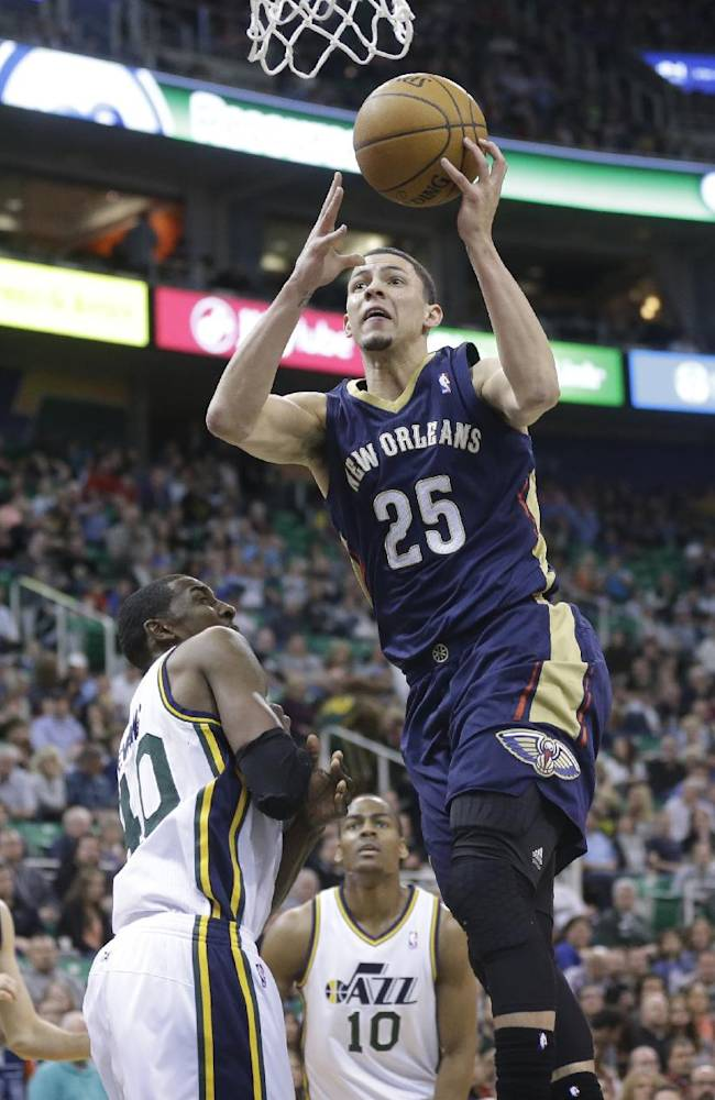 Jazz slip past Pelicans for 100-96 victory