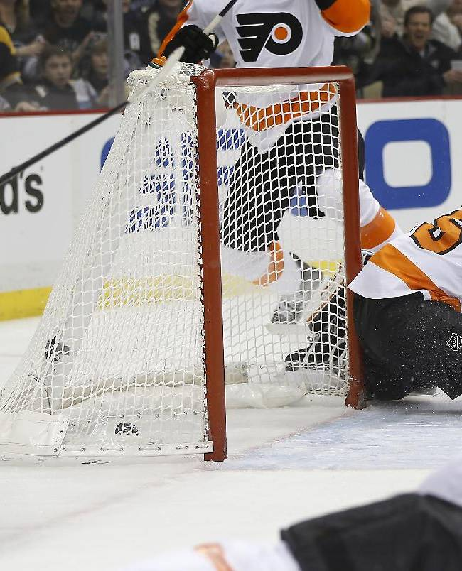 Flyers beat Penguins for 2nd straight day
