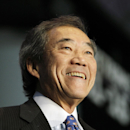 New York Islanders owner Charles Wang smiles during a press conference, Wednesday, Oct. 24, 2012 in New York, announcing that the Islanders hockey club will move from Nassau Veterans Memorial Coliseum in Uniondale, N.Y., and play at Brooklyn's Barclays Ce