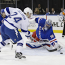 Callahan lifts Lightning to win in return to MSG The Associated Press