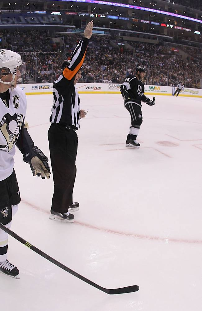 Pittsburgh Penguins v Los Angeles Kings