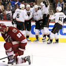 Penner, Ducks hand Coyotes 1st home loss, 4-2 The Associated Press