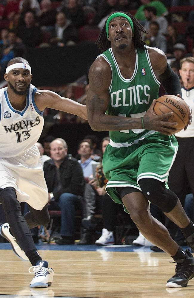 Love leads Timberwolves past Celtics in preseason
