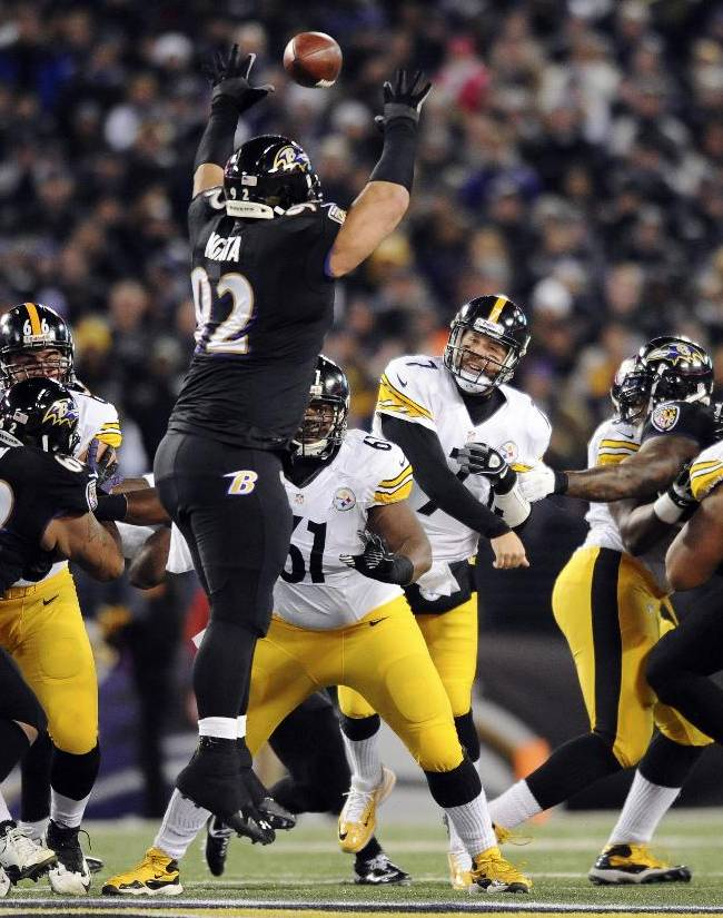 Ravens hold on for 22-20 win over Steelers