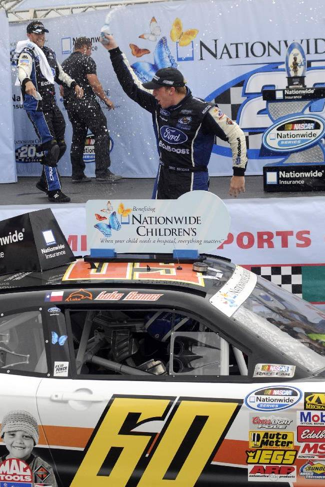 Buescher hangs on to win Nationwide at Mid-Ohio