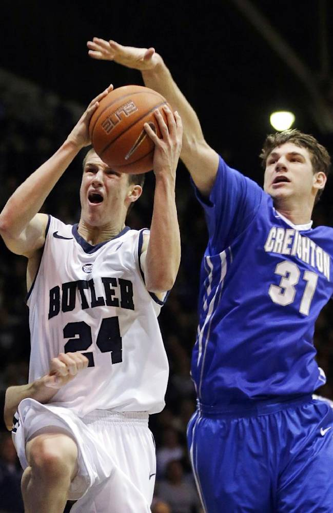 McDermott leads No. 18 Creighton past Butler 68-63