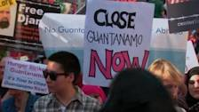 Rally marks 100 days of Guantanamo hunger strike