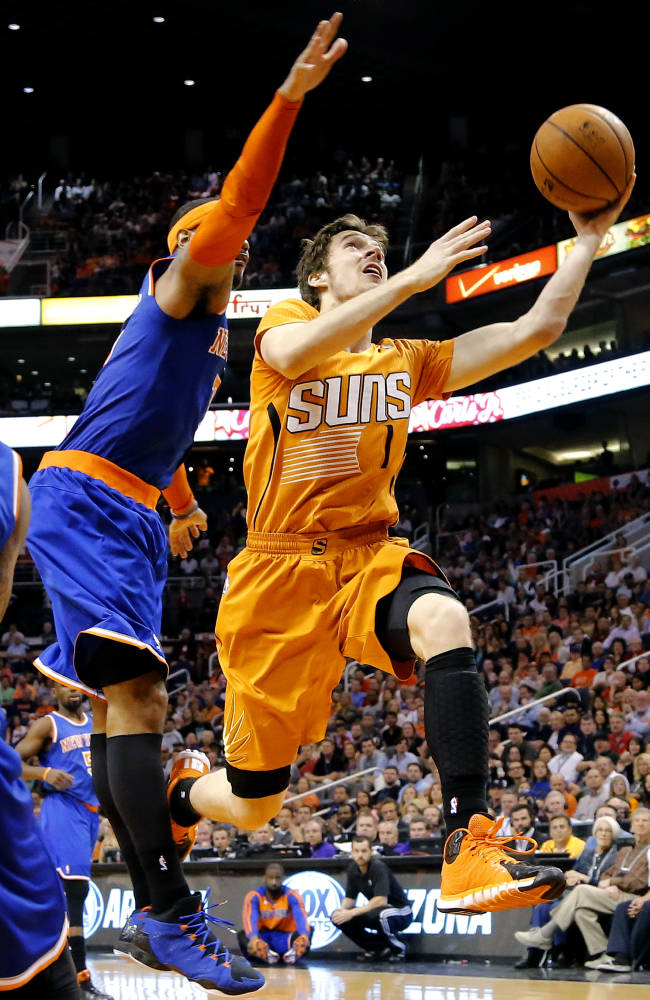 Suns' Dragic honored as NBA's Most Improved Player
