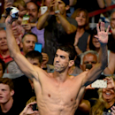 Michael Phelps' record 22 Olympic medals include an astonishing 18 gold (AFP Photo/Jeff Curry)